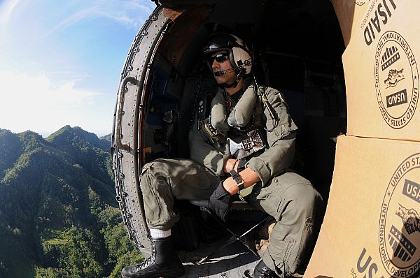 Aviation Warfare Systems Operator 2nd Class Anthony Chavez, a native of San Bernardino, Calif. assigned to the