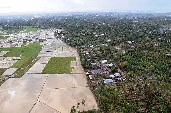 Kalibo is in the northern part of Panay Island and was greatly affected by Typhoon Fengshen. Areas surrounding Kalibo are still flooded.