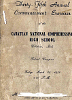 CNCHS Class 1979 Commencement Program